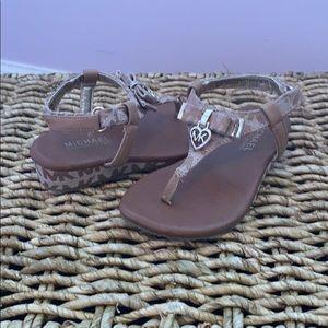 Toddler 6 1/2 Michael Kors sandal
